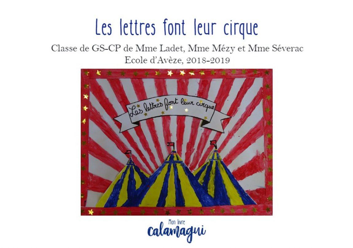 Les lettres font leur cirque