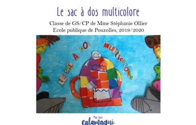 le sac a dos multicolore