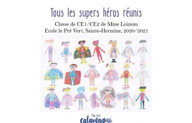 concours tous les super heros reunis nathalie loizeau