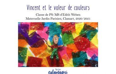 concours vincent et le voleur de couleurs edith weben