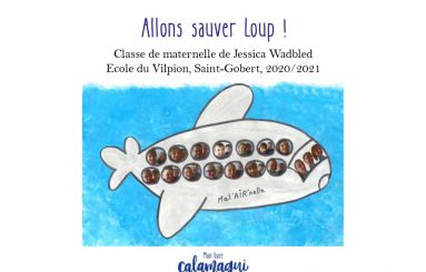 allons sauver loup jessica wadbled