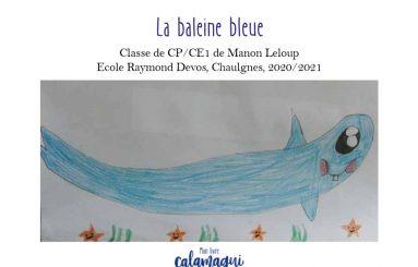 concours la baleine bleue manon leloup