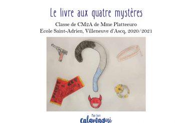 concours le livre aux quatre mysteres anne platteeuro