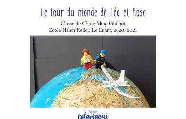 concours le tour du monde de leo et rose noemie guilbot