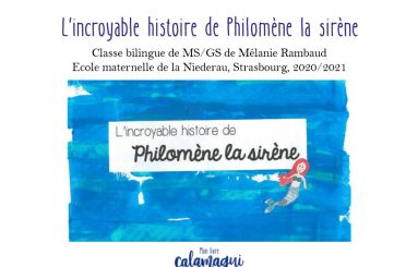 l incroyable histoire de philomene la sirene melanie rambaud
